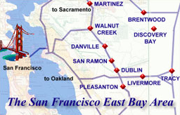 Cindy Greci's main area of focus in the San Francisco Bay Area